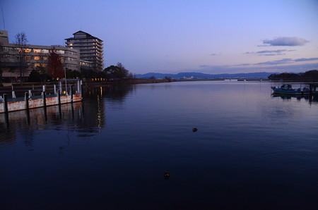 琵琶湖夕景1