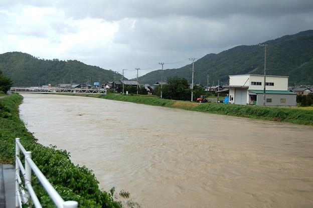 Photos: ハス川(氾濫危険警戒水位)