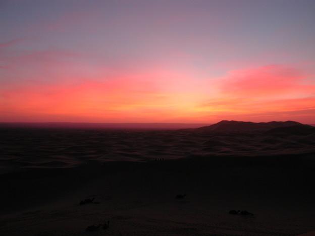 SunriseGlowサハラ砂漠Morocco#2