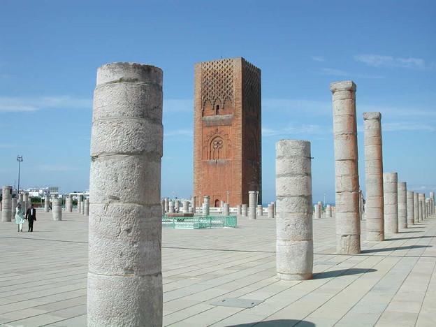 Moroccoラバト ハッサンの塔