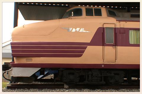 国鉄特急「とき」クハ181-45 JR新潟車両センター時代