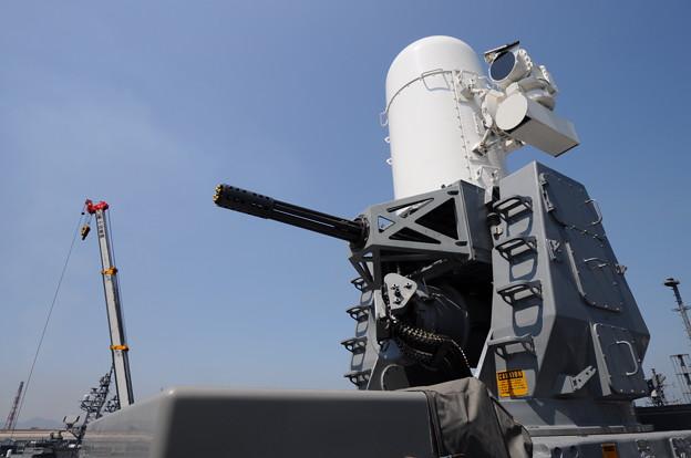 DDH182 護衛艦いせ 20mm機関砲