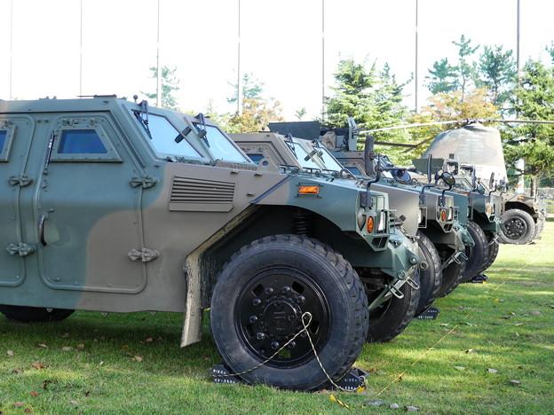 米子駐屯地 軽装甲車