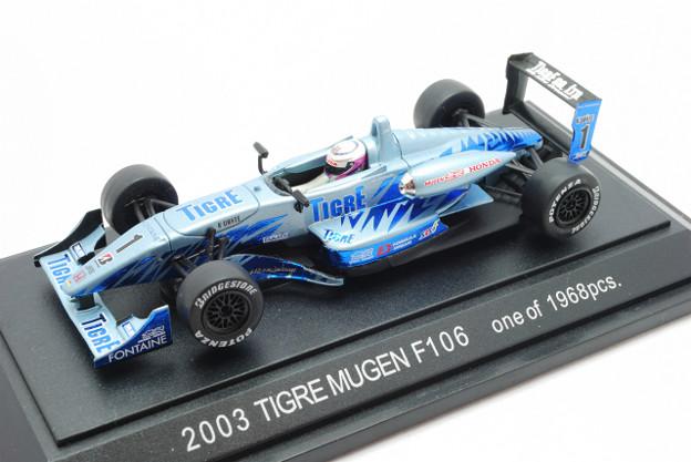 EBBRO_Honda F106 No.1 Tigre Mugen 2003_001