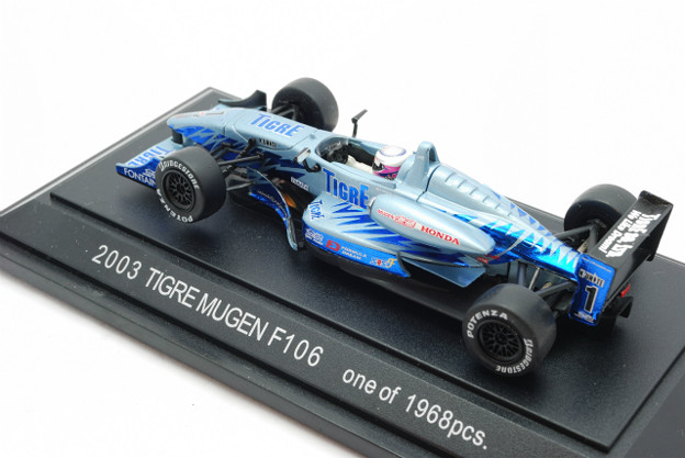 EBBRO_Honda F106 No.1 Tigre Mugen 2003_002