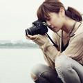 Photos: カメラガール in 秋の公園 #4
