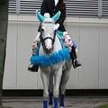 写真: 川崎競馬の誘導馬06月開催 紫陽花Ver-120611-01-large