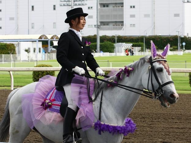 写真: 川崎競馬の誘導馬06月開催 あやめVer-120613-03-large