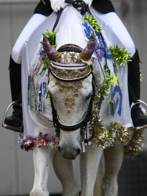 Photos: 川崎競馬の誘導馬07月開催 七夕飾りVer-120702-09-large