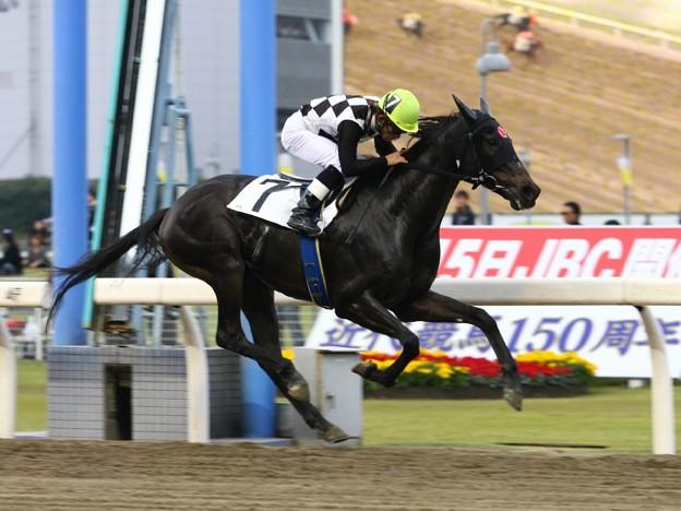 写真: 121105川崎04R楽天競馬賞 優勝スパンティーク