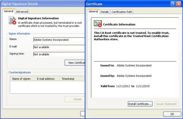 Fake Certificate 2