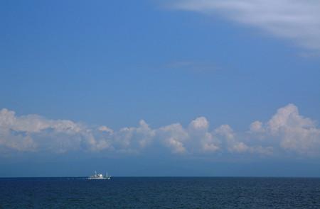 夏の駿河湾
