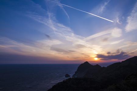 西伊豆の夕陽