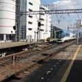 Photos: 大和八木駅を離れる『しまかぜ』-02