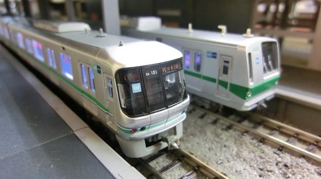 模型:東京メトロ06系と6000系その3