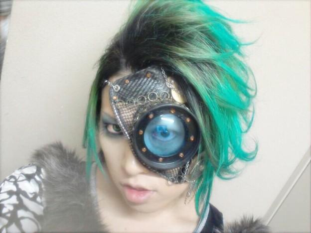 眼帯(?)【装着】