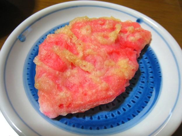 紅生姜の天ぷら…