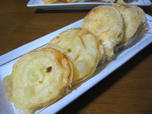 野菜の天ぷら2種…
