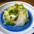 頂物の白菜漬け…