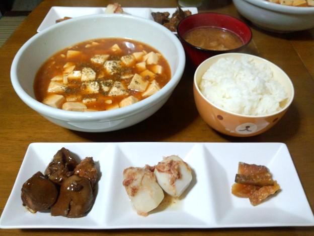 麻婆豆腐…