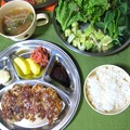 Photos: 餃子定食・・・