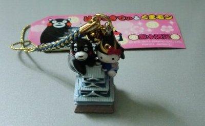 熊本限定 くまモンお城キティ