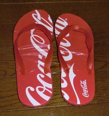 コカ・コーラ オリジナルビーチサンダル