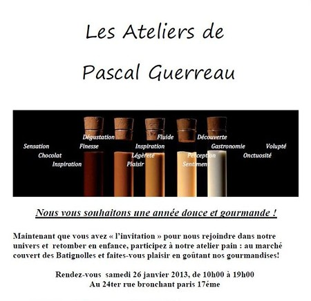 Les Ateliers de Pascal Guerreau