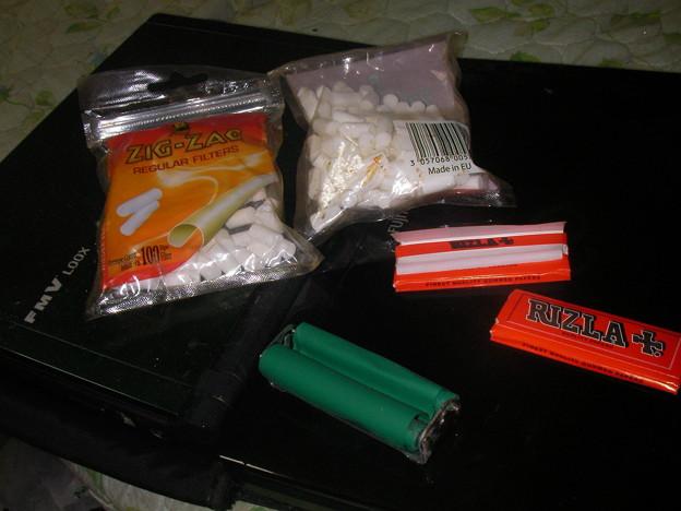 紙巻きたばこを自作するキット