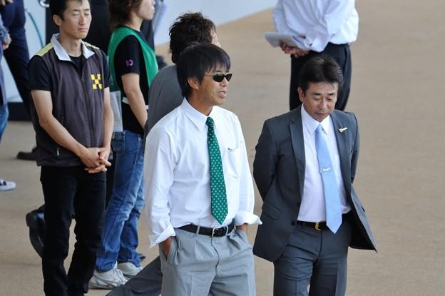 0551_「まあ、無難だろう」って感じの和雄先生。行きの飛行機が一緒でした。