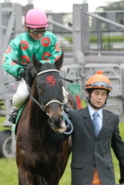 [070311中山11R中山牝馬S]ジョースマイル(江田照)