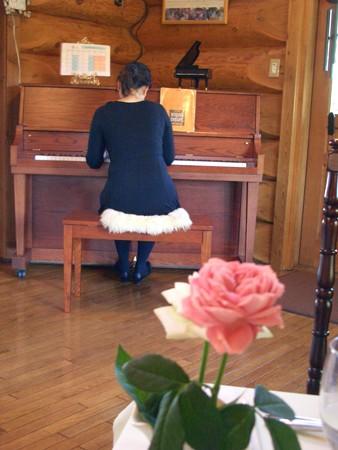 ピノとアメリ简谱-知ってるポピュラー曲をお店を出るまで弾いてくださいました   テー