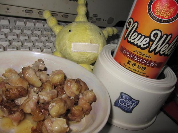 新ノイヴェルト&鶏軟骨(・ω・)□