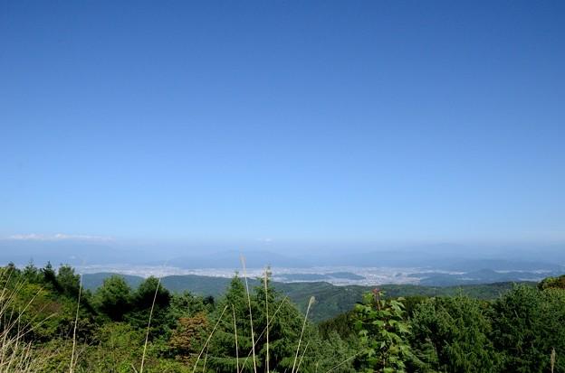 国見岳から望む福井市街