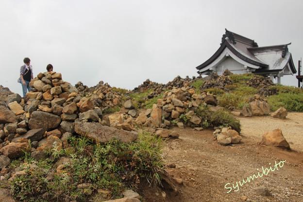 蔵王 刈田岳山頂