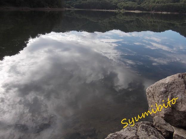 前川ダムにて 2013.10.19