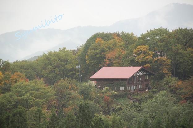 蔵王ペンション村 樹氷橋から撮影