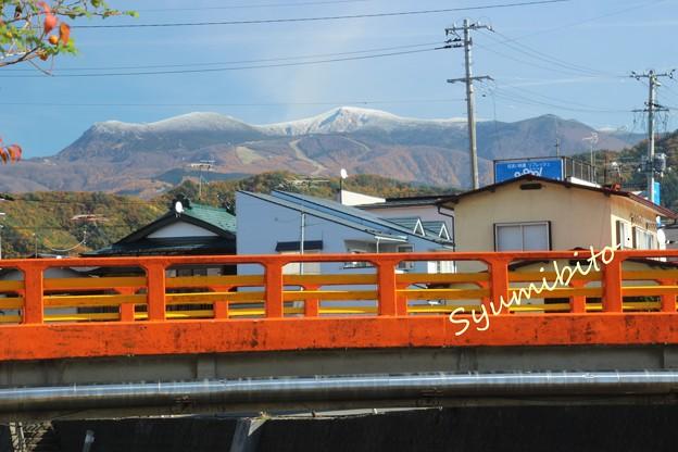 蔵王初冠雪 (だと思う(笑))  2013年11月9日