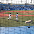 Photos: 神宮球場  5入口10列47番(前から2番目)からの眺め