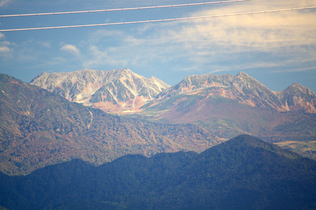 奇跡の光景、紅葉の雄山