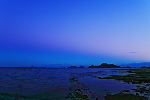 写真: 鞆の浦 夕景
