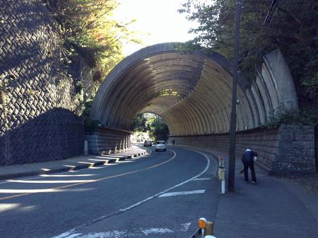 20131123鶴岡八幡宮を目指す
