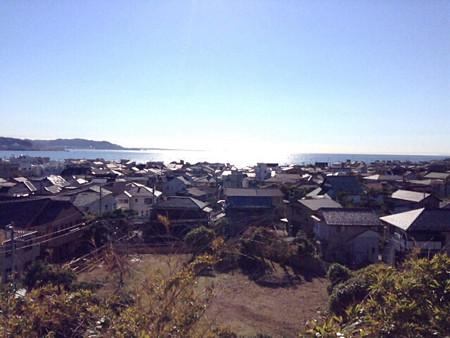 20131123由比ケ浜を見下ろす