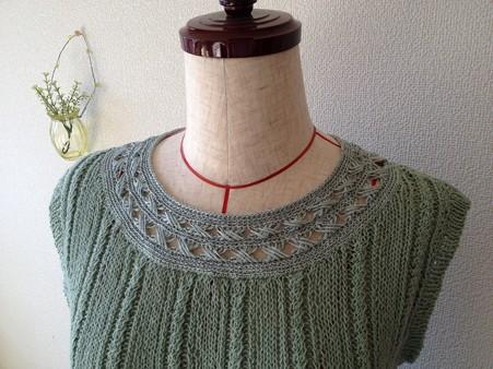 リング編みプル襟元