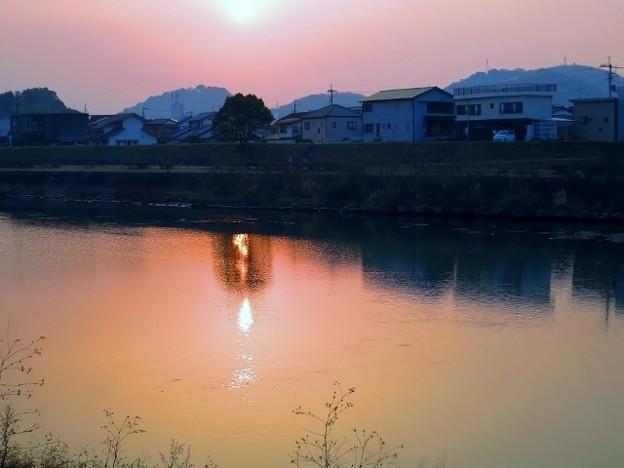 暁の鏡川.15