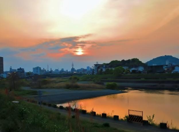 暁の鏡川.35
