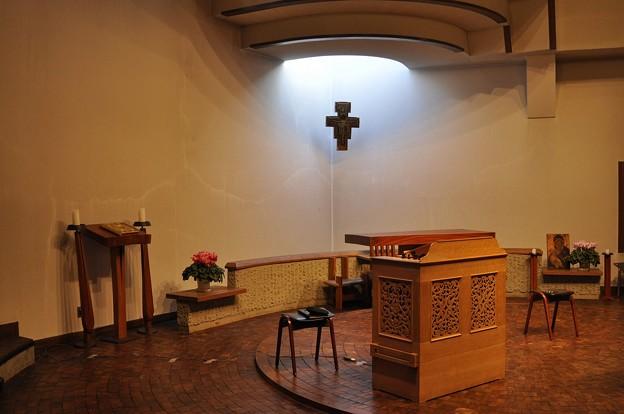 聖グレゴリオの家聖堂のステージ