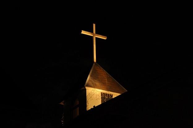 12月24日、クリスマスイブの教会?