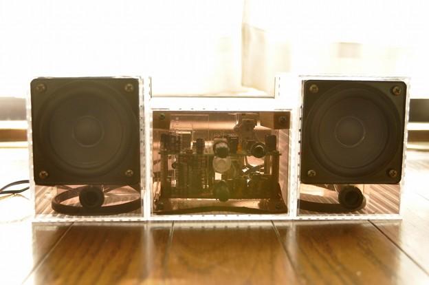 月刊Stereo付録アンプによるミニコンポの制作(10)