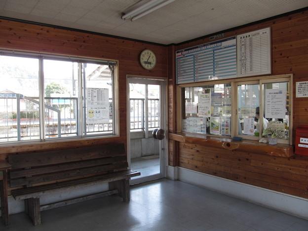 土佐くろしお鉄道窪川駅改札口